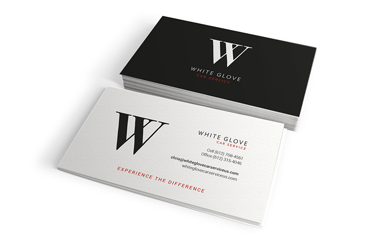 Logo Design and Branding White Glove Car Service