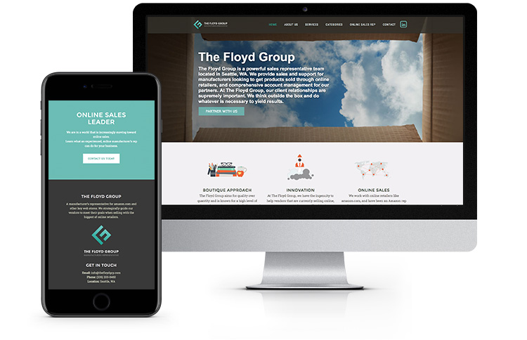 Web Design - The Floyd Group