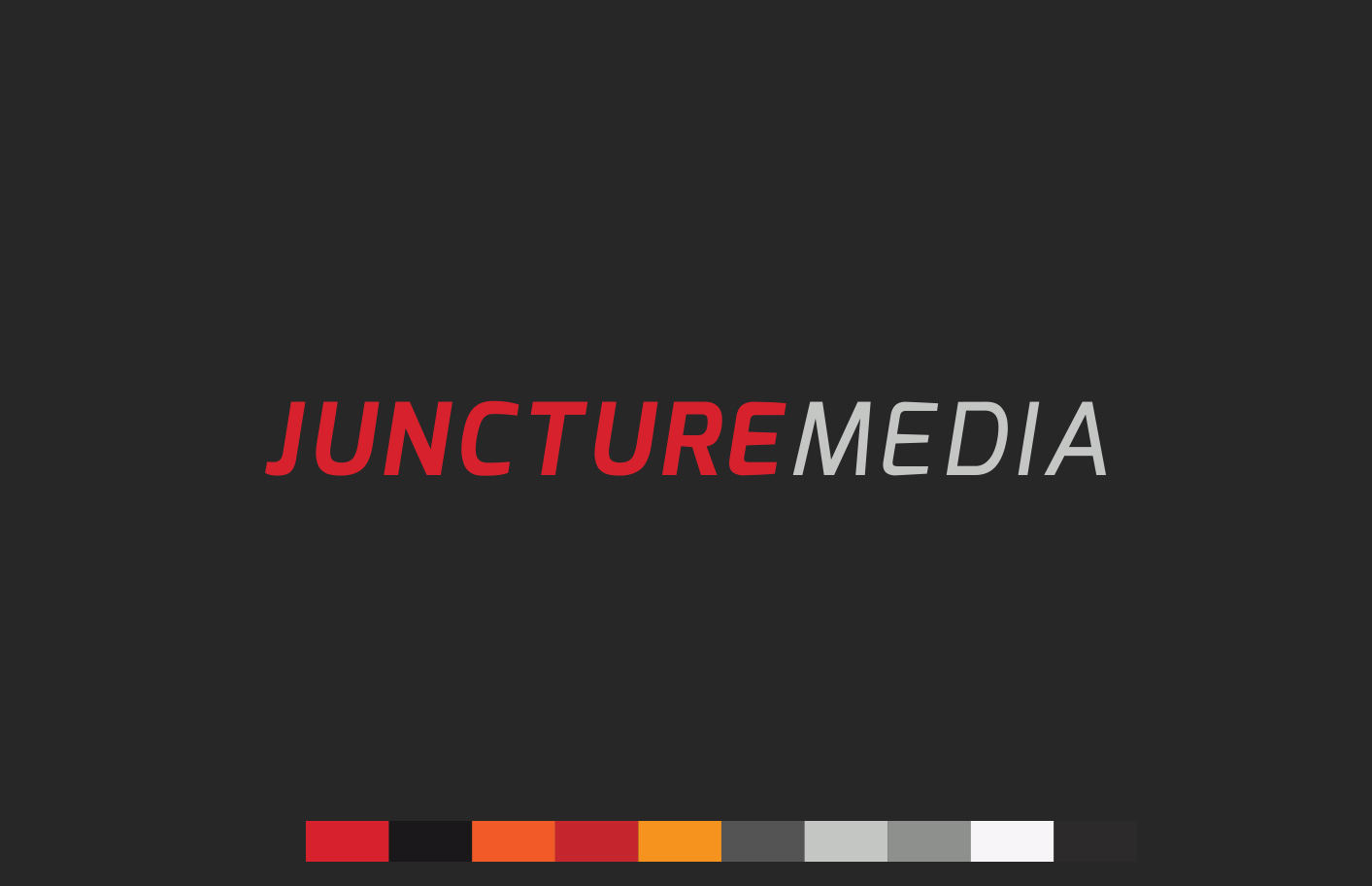 Logo Design and Branding Juncture Media