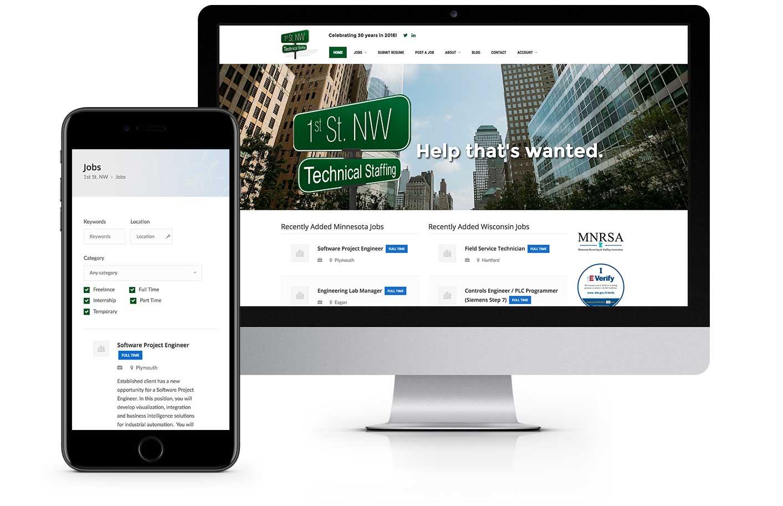 Web Design - Minnesota Technical Staffing
