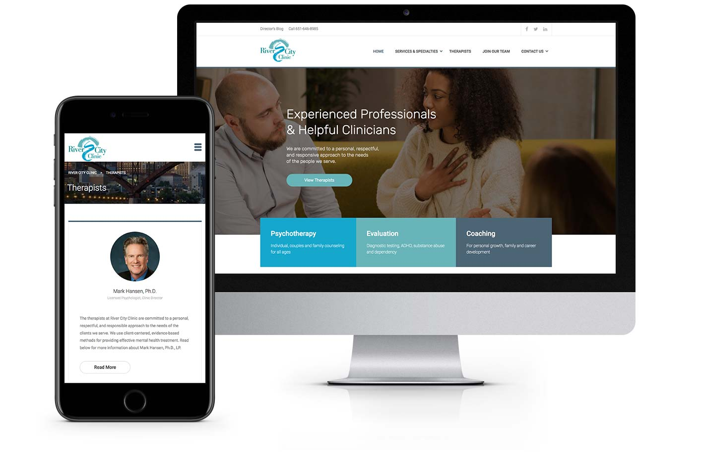 Web Design - River City Clinic