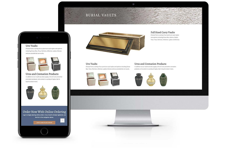 Web Design - Wieser Vault
